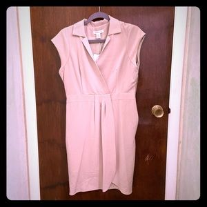 Liz Claiborne collared dress size 10 side zip